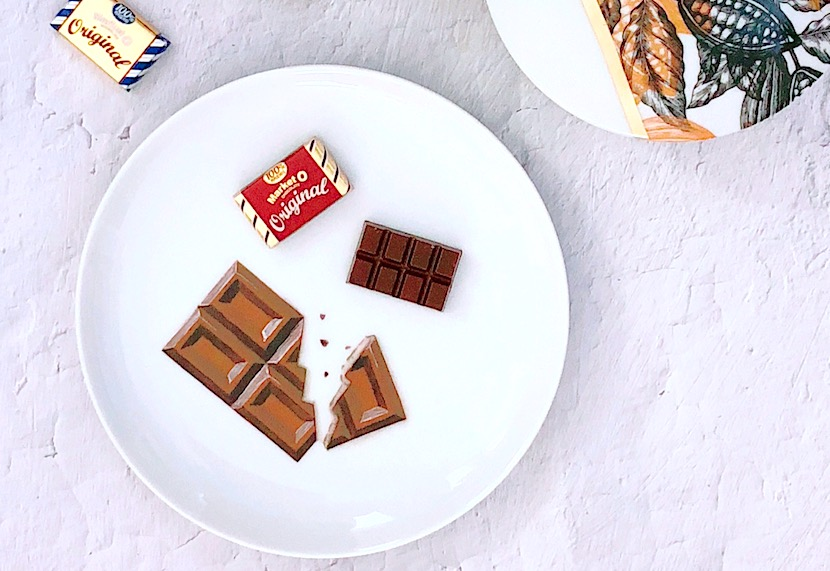 シュールデコール♡チョコレートを描く